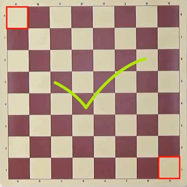 Satranç Tahtası Doğru Yerleşim Şekli